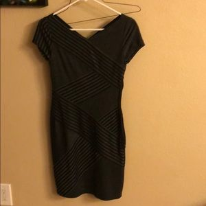Black and Grey Dress BCBG xxl